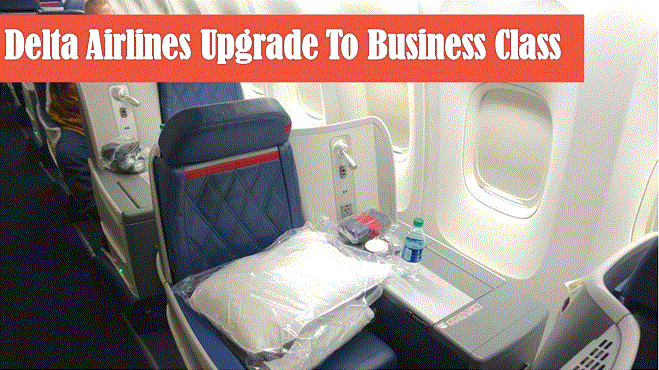 How to Upgrade to Business Class on Delta Airlines