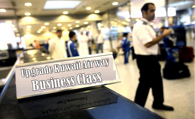 Kuwait Airways Business Class Upgrade