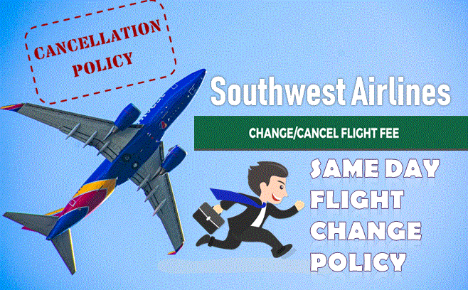 Southwest Airlines Same Day Flight Change
