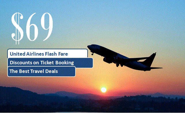 United Airlines Sale $69
